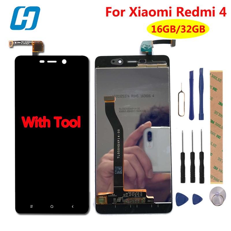 xiaomi redmi 4 pro lcd display touch screen test well new. Black Bedroom Furniture Sets. Home Design Ideas
