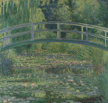 The Japanese Bridge  Painting Landscape High Quality Master by Claude Monet Handmade Canvas Wall Decoration