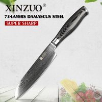 HIGH QUALITY 5 Japanese VG10 Damascus Steel Chef Knife Kitchen Knife Santoku Knife With Forged Color