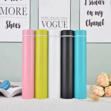 New 260ML 304 stainless steel Insulated Vacuum Flasks Thermal  Hot Wate Bottles Thermos Coffee Mug Stainless Steel Thermos Cup 20 color new 260ml slim insulated vacuum flasks thermal bottles thermos coffee mug stainless steel thermos cup hot water bottle