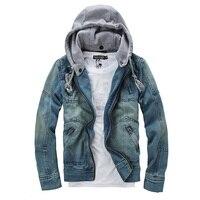 Jacket Man Tops Cotton Men S Hoodie Jeans Men Jacket Outerwear Winter Coat Denim Jacket Coat