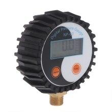 0-10 Bar G1/4 Battery Power Digital Gas Pressure Gauge Tester Detector 0~145psi