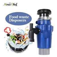 ITOP Kitchen Food Garbage Processor Disposal Crusher Electric Food Waste Disposer Stainless Steel Grinder Kitchen Sink Appliance