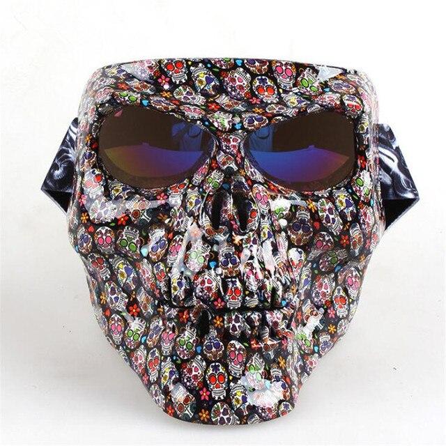 Хэллоуин маска черепа в ассортименте