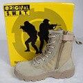 Delta Botas Táticas Deserto Militar Botas SWAT Botas de Combate Americanas Sapatos Ao Ar Livre Respirável Wearable Tênis Para Caminhada EUR tamanho 39-45