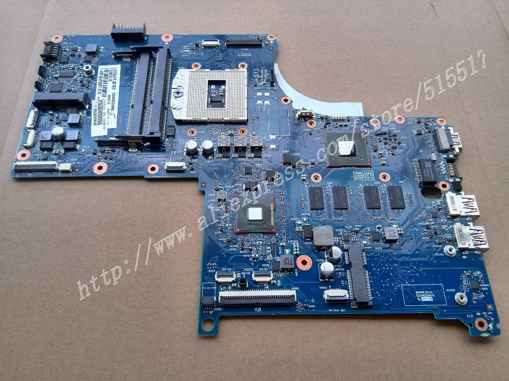 720266-501 For HP Envy15 17 Touchsmart 17 Motherboard 720266-001 , Warranty 90 days 746447 501 746447 001 for hp touchsmart 15 envy15 motherboard hm87 740m 2g notebook system board tested