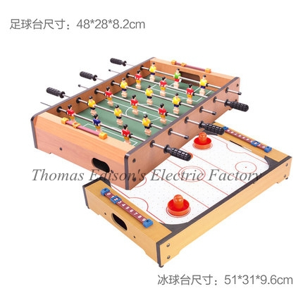 Mesa Selling Soccer Table Backgammon Wooden Football Game Foosball Toys The Children's Machine billiards ice hockey games