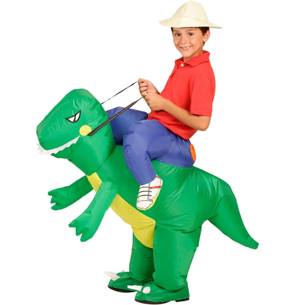 Inflatable Dinosaur Costumes Halloween Cosplay Costume (4)