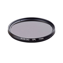 RISE 77mm Circular Polarizing CPL C-PL Filter Lens 77mm For Canon NIKON Sony Olympus Camera