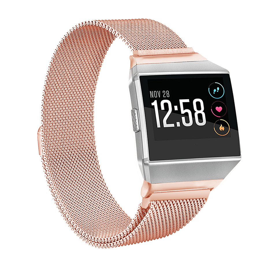 For Fitbit Ionic Band Metal Stainless Steel Milanese Magnetic Sport Strap Bracelet for Fitbit Ionic Smart Watch Accessories image