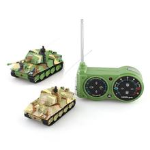 Hot Sale Mini 1:72 RC Toy Tank 14CH Radio Remote Control Tiger Battle RC Tank mini Toy Tank Gift for Kids Christmas 2117