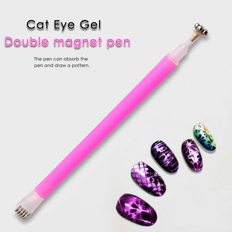 WiRinef Dual Use Strong Flower Magnetic Nail Stick Pen Set