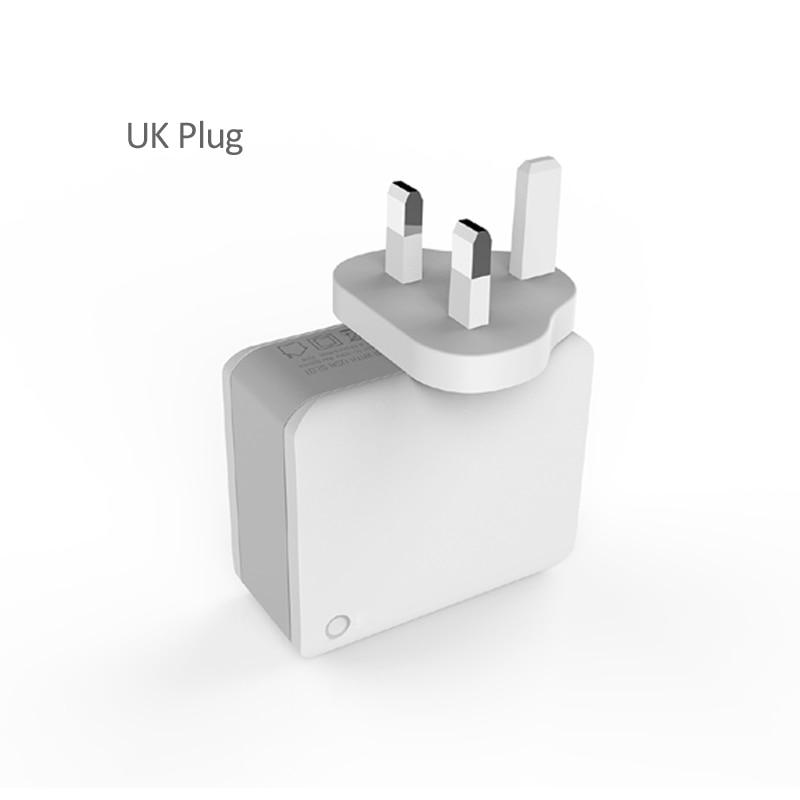 INGMAYA Resladdare USB 4-portar 22W Power 2.4A Charge För iPhone 5S - Reservdelar och tillbehör för mobiltelefoner - Foto 4