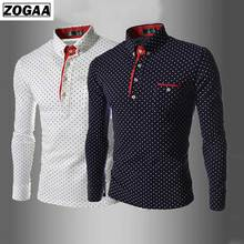 Spring Long sleeves Sport POLO Shirts  For Men  English Fashion Wave Taps Leisure Slim Boy Clothes Outdoor Entertainment Top male jumper puma 75231801 sports and entertainment for men sport clothes tmallfs