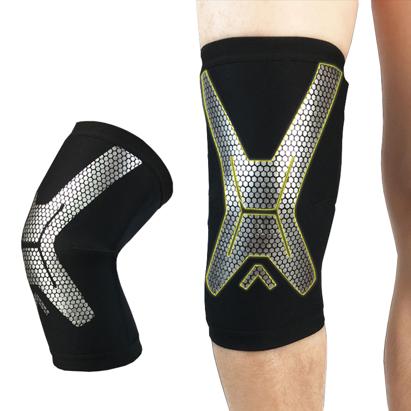 1Pcs Knee Brace, Knee Compression Sleeve Support For Running, Arthritis, ACL, Meniscus Tear, Sports, Joint Pain Relief