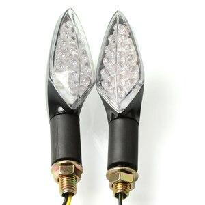 Image 5 - 2 pcs אופנוע עמיד למים היגוי אורות הפיכת אותות אור שונה כיוון LED הפעל אות אורות סופר בהיר נצנץ