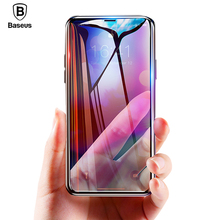 Baseus Curved Edge Screen Protector For iPhone XR XS Max Tempered Glass 0.23mm Full Cover Protective Film Xs Xr