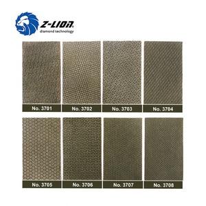 Image 1 - Z LION 2 Blätter Diamant Schleifpapier Galvani Polieren Blatt Abrasive Schleifpapier Grit 60 120 200 400 Ersatz Schleif