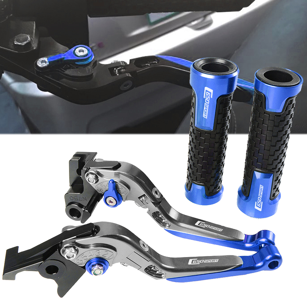 Motorbikes CNC Clutch Brake Pivot Levers handlebar hand grips For BMW C650Sport C 650Sport C650 Sport