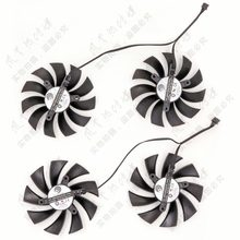 Pld10015b12h dc12v 0.55a novo original para evga gtx780ti/980/980ti classificado/kingpin placa de vídeo ventilador de refrigeração
