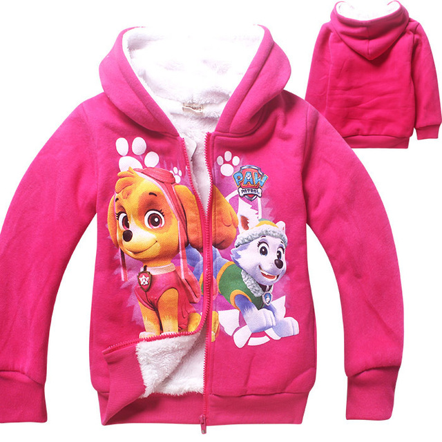 0a2bfb952e5f6 3-7 Y Baby Cotton Clothes 2016 New Year Winter Coat Jacket Children girl  Winter