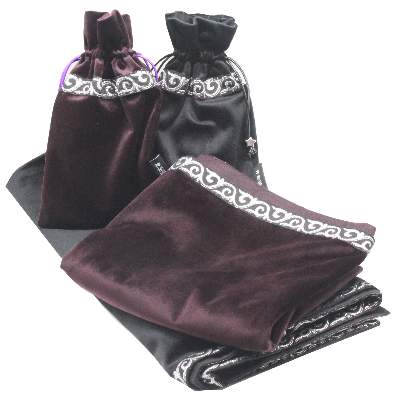 64x64 cm Altar Tarô Toalha De Mesa Com Sacos de cobertor tapete Reunindo  Tecido 08b57ddbacf88