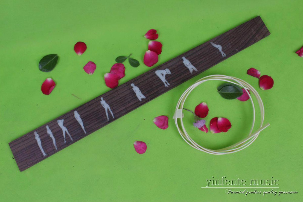 Guitar Accessories  1  x  25.5electric   Guitar Fretboard electric guitar ROSE   Wood Fretboard Parts 00-41# inlay guitar accessories 1 x 25 5electric guitar fretboard electric guitar maple fretboard parts 00 50 inlay