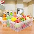 Кухня  холодильник  фрукты  овощи  корзина для овощей  прозрачный пластиковый ящик  корзина rectangu