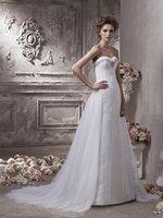 Пикантные модные трапециевидные платья vestido de noiva Милая Съемный шлейф кружево Свадебные платья 2018 свадебное платье