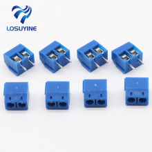 20 PCS KF301-5.0-2P KF301-3P Pitch 5.0mm KF301-2P Straight Pin PCB 2 Pin 3 Pin Screw Terminal Block Connector