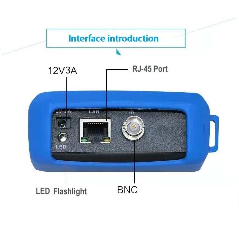 IPC-9310 wifi 4.3 '' Dokunmatik ekran 5 1 CCTV Tester IPC 4 K / AHD / - Güvenlik ve Koruma - Fotoğraf 2