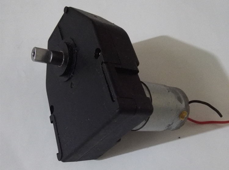 Dc gear motor 7 fonts dc gear motor 385 smart car 6v 85 for 4 rpm gear motor