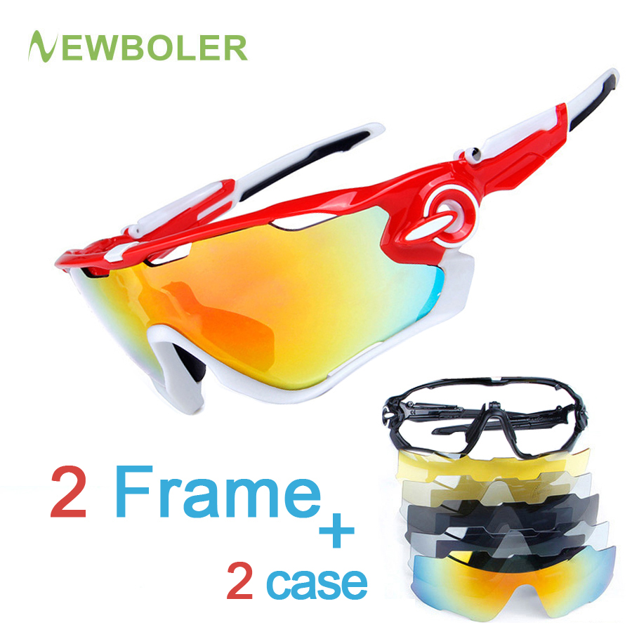 2 Frame Polarized Cycling Sunglasses Racing Sport Cycling Glasses Women/men TR90 Cycling Eyewear Bike Bicycle Goggles 5 Lens tianou acetate retro full rim optical eyeglasses frame for women and men eyewear 5 color 5226 glasses frame size 48 22 145