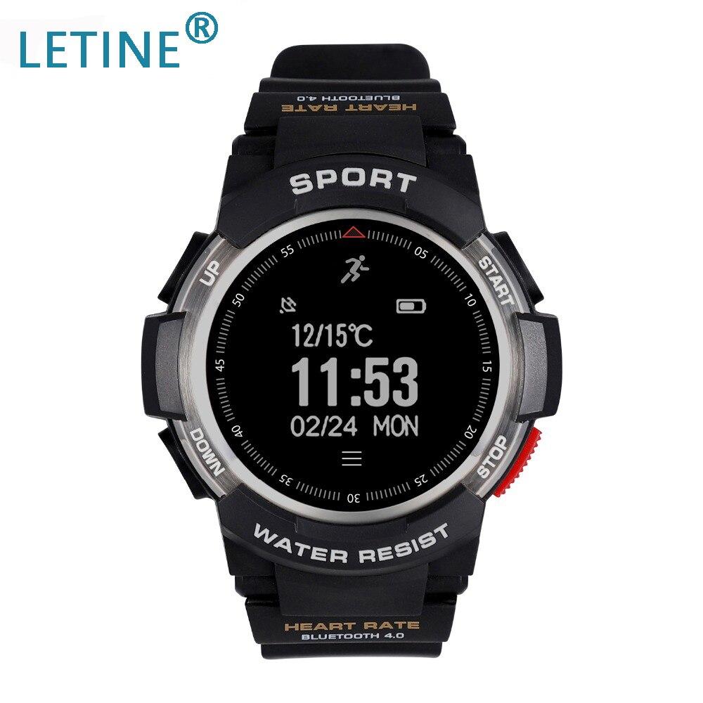 Montre intelligente Multi Modes Sport F6 montre Bluetooth extérieure IP68 étanche moniteur de sommeil de fréquence cardiaque montre-bracelet à distance