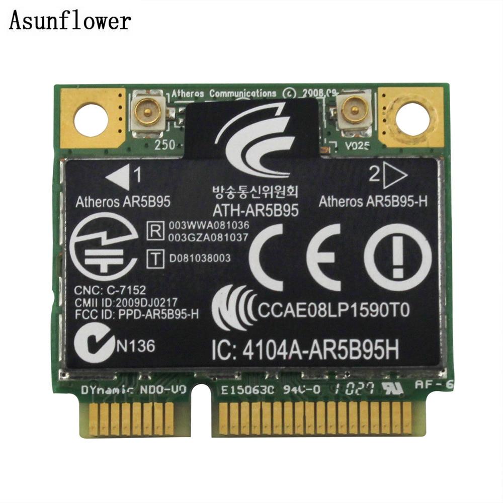Atheros AR5B95 Wireless WiFi WLAN Card For HP G42 CQ42 G62 CQ62 605560-005 PCI-E