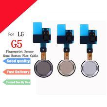 1pcs New Home Button Flex Cable For LG G5  H850 H860 H868 Ribbon With Fingerprint Sensor Cell Phone Part Replacement