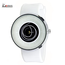 2016 hommes de cadeau Enmex hommes femmes vol créative conception montre-bracelet angle visage bleu montre de sport mode casual montres à quartz