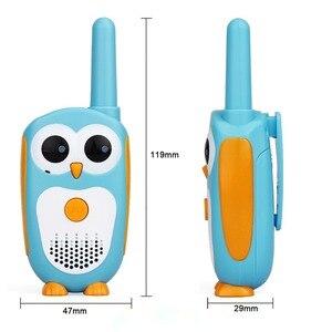 Image 3 - 2Pcs Retevis RT30 Walkie Talkieเด็ก2Pcsการ์ตูนนกฮูกออกแบบChildreวิทยุ0.5W 1ช่อง talkiesวันเกิดคริสต์มาสของขวัญ