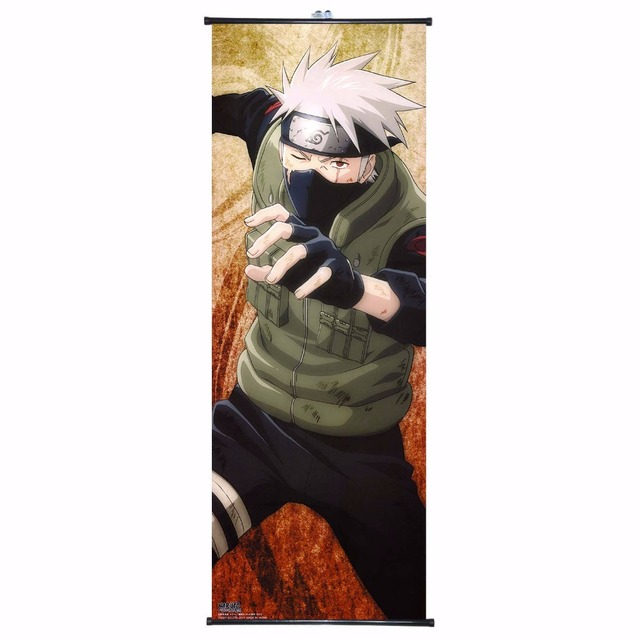 Naruto Poster Wall Scroll Painting Anime Manga Decorative Pictures