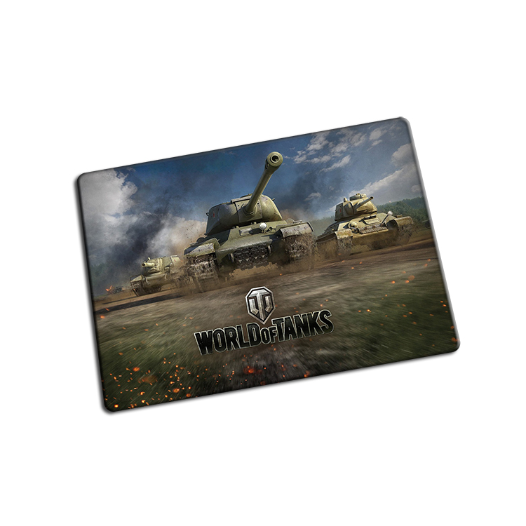 Personalized gaming mouse pad World of Tanks mousepad cheapest computer mouse mat gamer natural rubber play mats padmouse