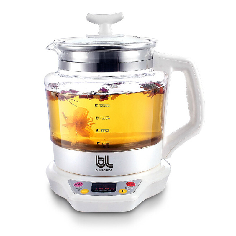 Health Pot 100W 2L  Electric Kettle electric glass split electric teapot electric kettle health cup mini health pot full of glass electric hot office brew