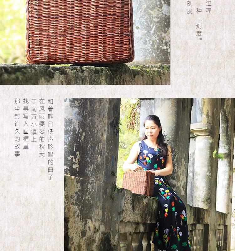 18 Summer Beach Bamboo Bag Straw Women Handbag Handmade Woven Bag Luxury Designer Tote Travel Clutch Lunch Bags snx008 30 OFF 7