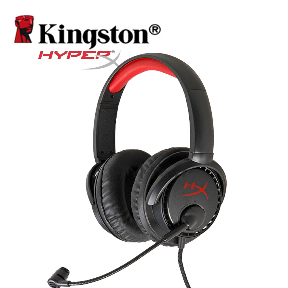 Kingston HyperX Gaming Headphone Noise Isolating Game Headphone Headset With Microphone for Headphone Gamer KHX-HSCD-BK/AS