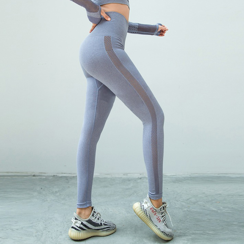 High waist seamless leggings sport women fitness yoga legging thick fabric gym legging workout sport leggings athletic tights 9