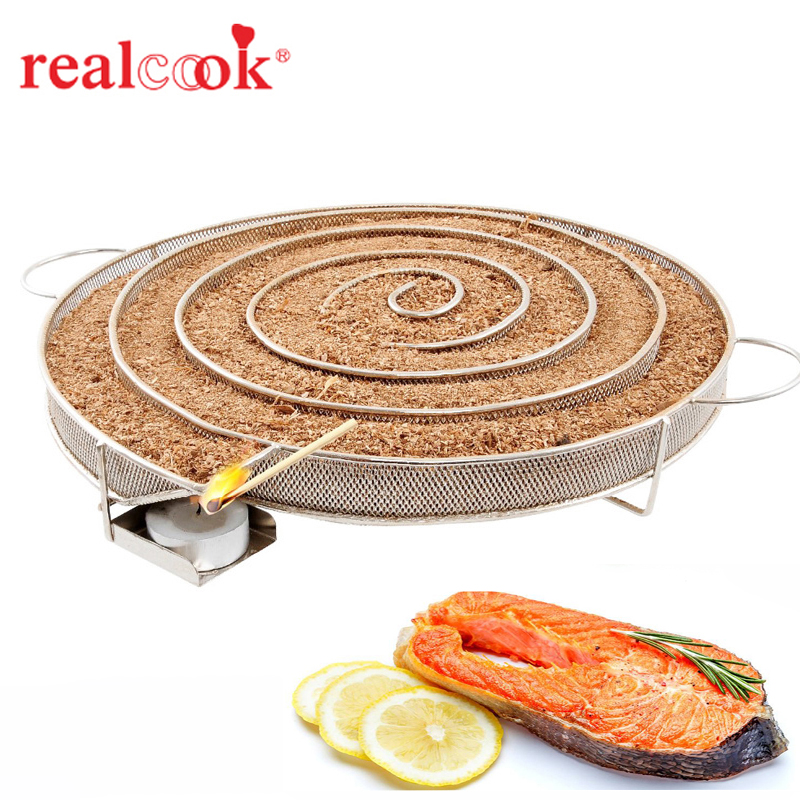 Cold Smoke Generator BBQ Accessories Stainless Barbecue Grill Cooking Tools Bacon Cold Smoking Basket Meat Fish Salmon Smoker