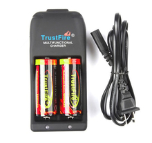 TrustFire TR-006 Multifunctional Battery Charger+2PCS 26650 Protected 5000mAh 3.7V Lion Rechargeable Battery,10set/lot