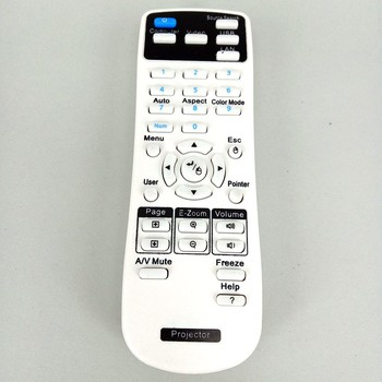 NEW Remote Control FOR Epson 154720001 Projector Fernbedienung fit for EB-C30XE EB-30XE EB-C28SH EB-S18 EB-S4 EB-X24 EB-S31 EB-W elplp60 v13h010l original projector lamp with housing for epson eb 420 eb 425w eb 900 eb 905 eb 93 eb 93e eb 95