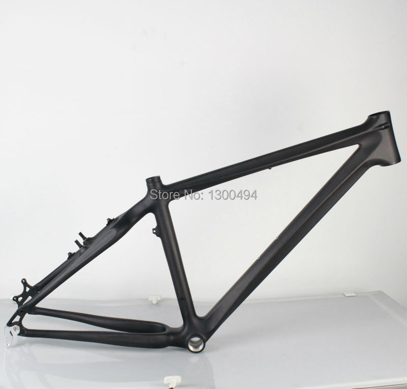 Mountain Bike Frame  Carbon frame for Disc and V Brake MTB 26er KQ-MTB108  Size16/18in Cheap Clearance Price  Factory outlets mountain bike carbon frame 26er full carbon mtb bike frame 26er 14 16 t800 carbon fiber frame mtb with headset clamp bb92