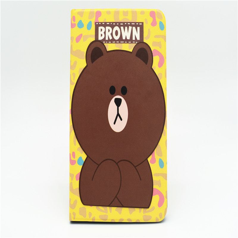 Bear Cartoon Case For Ipad 2/3/4 9.7 Inch A1822 A1893 Slim Opvouwbare Stand Cover Auto Wake Pu Case For Ipad 2017 9.7 Inch