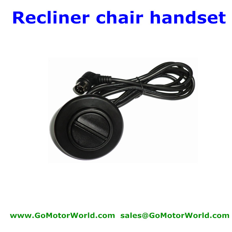 Five Round Pins Bending Connector Round Two Buttons Handset Control Switch  Hand Swith For Recliner Sofa Lift Chair In Motor Controller From Home  Improvement ...